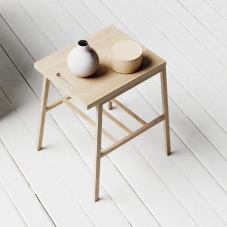 Linear side table